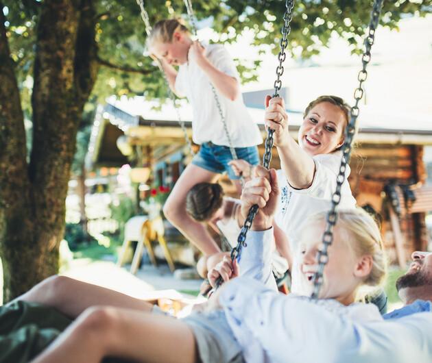 Familie Neudegger aus dem Nesslerhof Großarl
