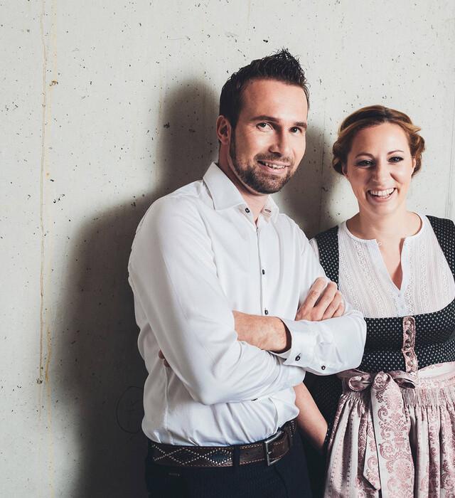 Gastgeber Tina und Hermann Neudegger im 4*S Wellnesshotel Nesslerhof in Großarl