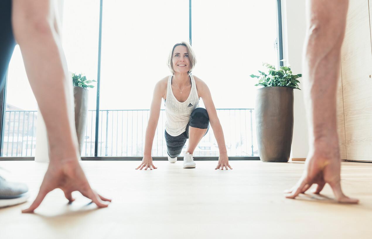 Fitnesstraining im Urlaub in Großarl