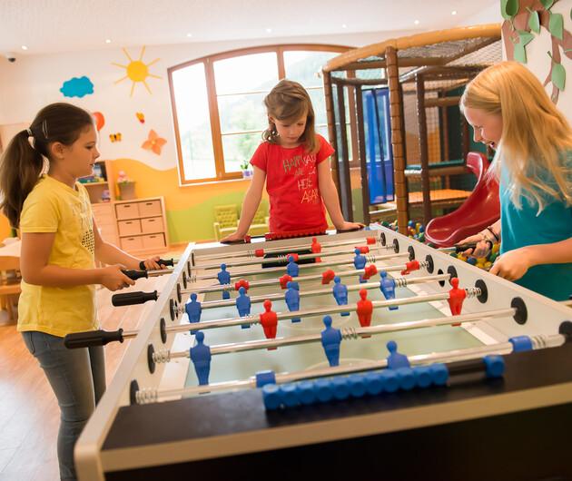 Spielzimmer im Hotel Nesslerhof, Großarl